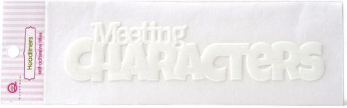 Queen and Co Magic Headliners Self Adhesive Epoxy Title Me and the Mouse hl1496